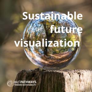Sustainable future visualization