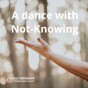A dance with Not-Knowing